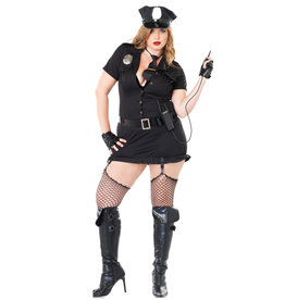 Dirty Cop Costume - Women Plus