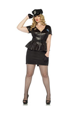 Traffic Stop Cop Costume - Women Plus