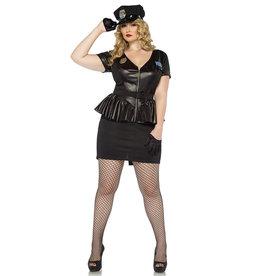 Traffic Stop Cop Costume - Women Plus