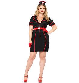 Naughty Night Nurse Costume - Women Plus