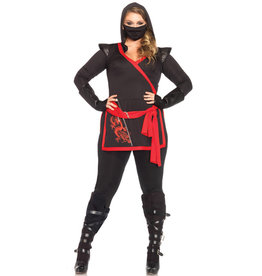 LEG AVENUE Ninja Assassin Costume - Women Plus