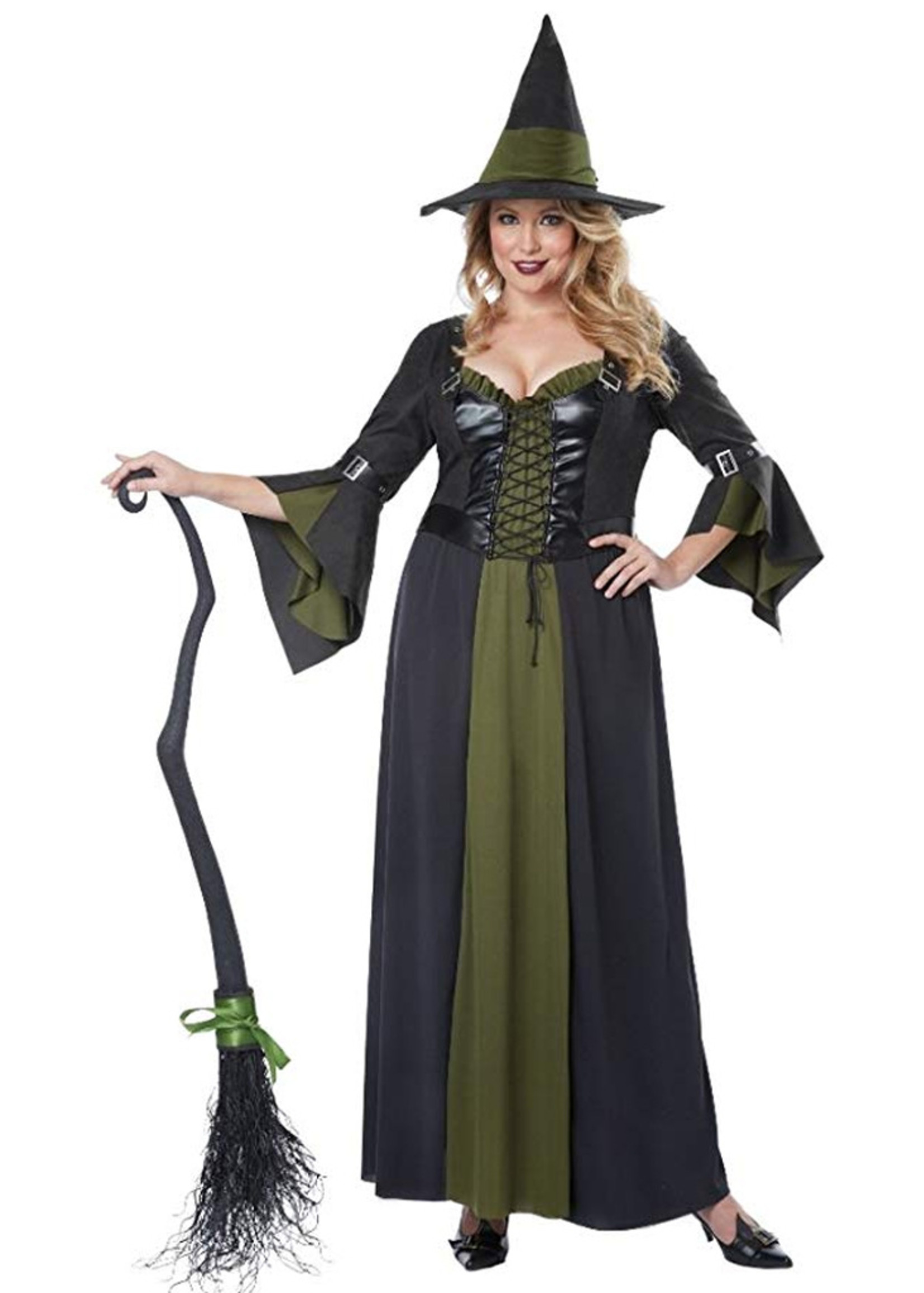 Classic Witch Costume - Women Plus