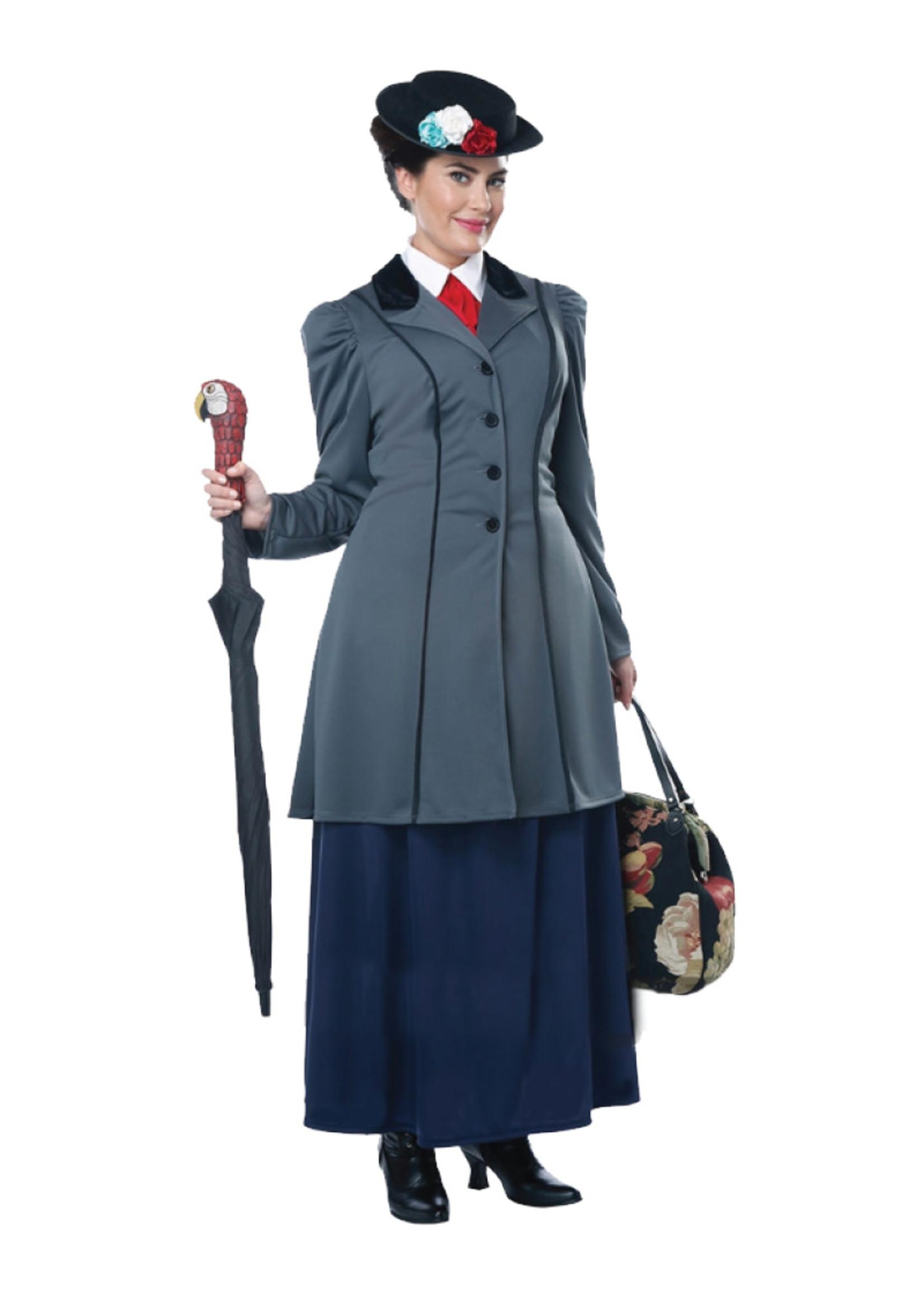 English Nanny Costume - Women's Plus