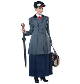 English Nanny Costume - Women's Plus