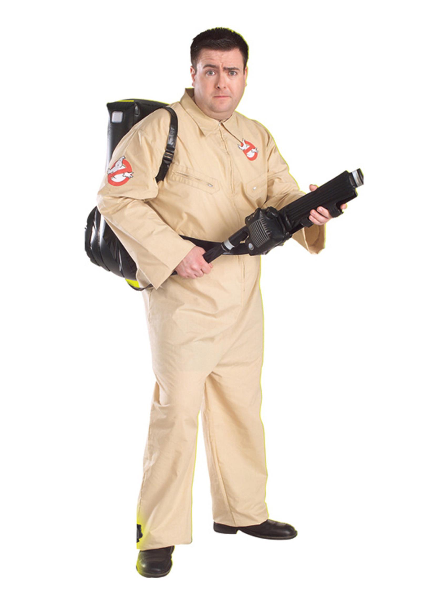 Ghostbusters Costume - Men's Plus