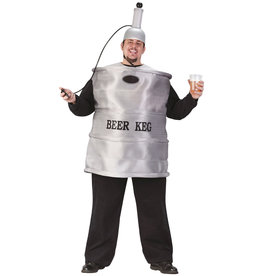 Beer Keg Costume - Men's Plus