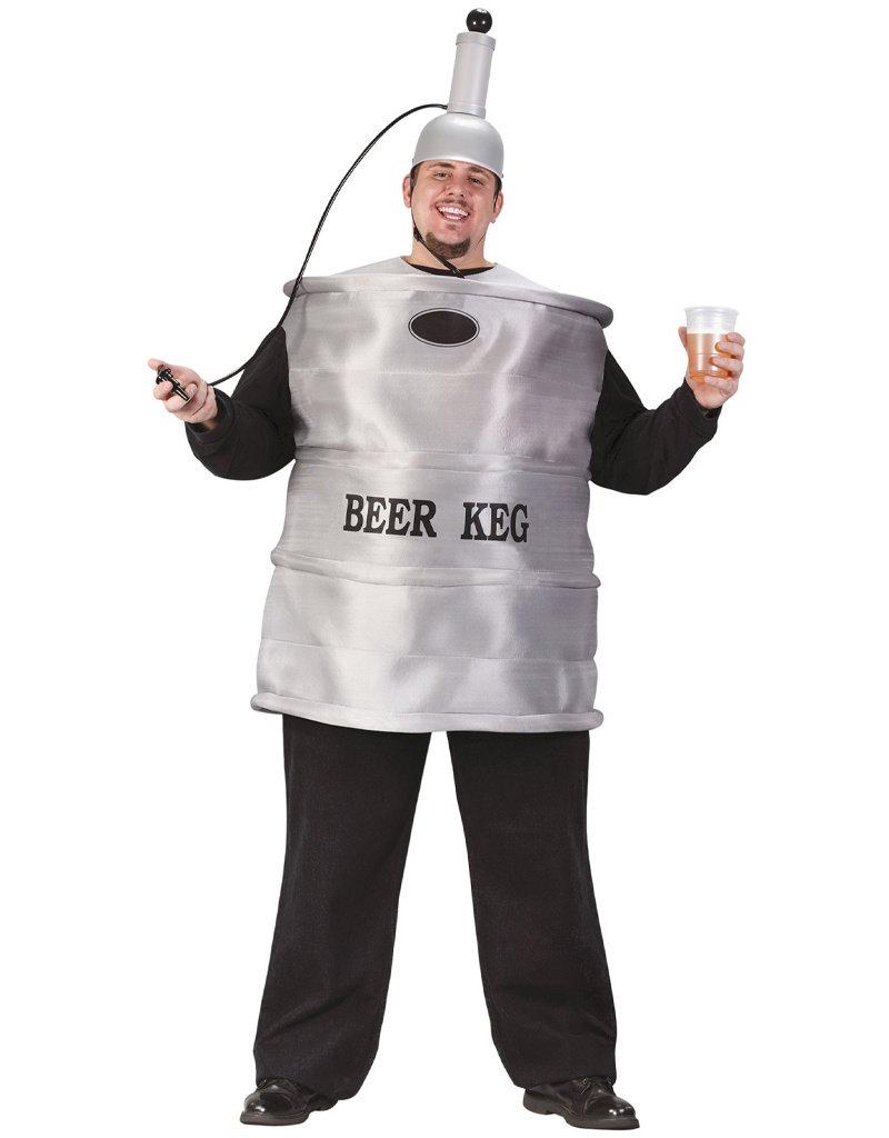 Beer Keg Costume - Men's Plus