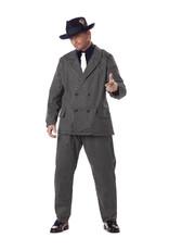 Gangster Costume - Men's Plus