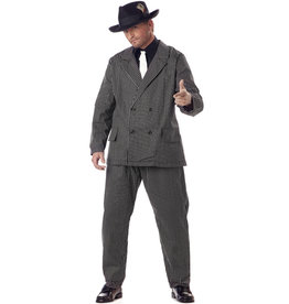 Gangster Costume - Men's Plus