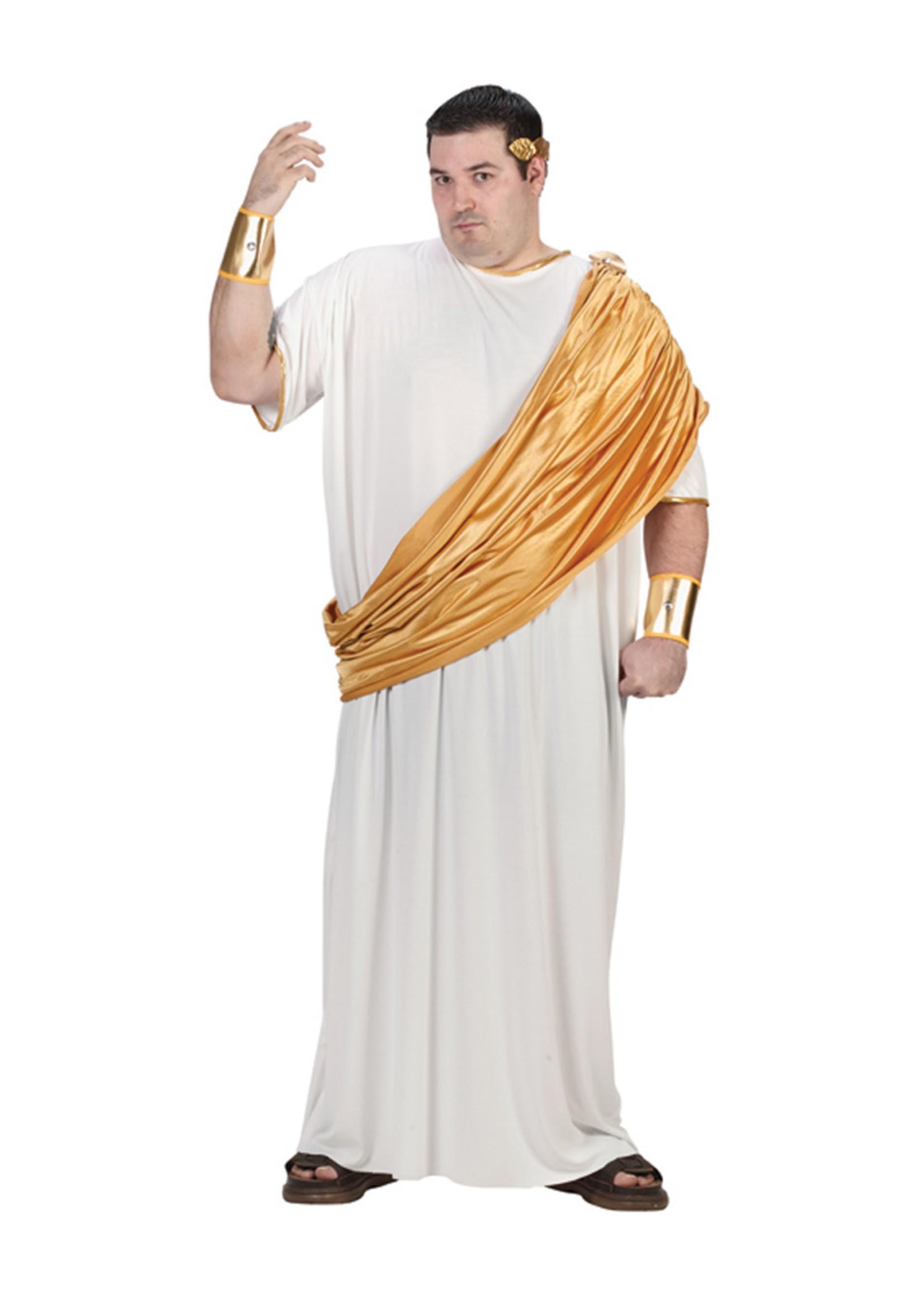 Hail Caesar Costume - Men's Plus