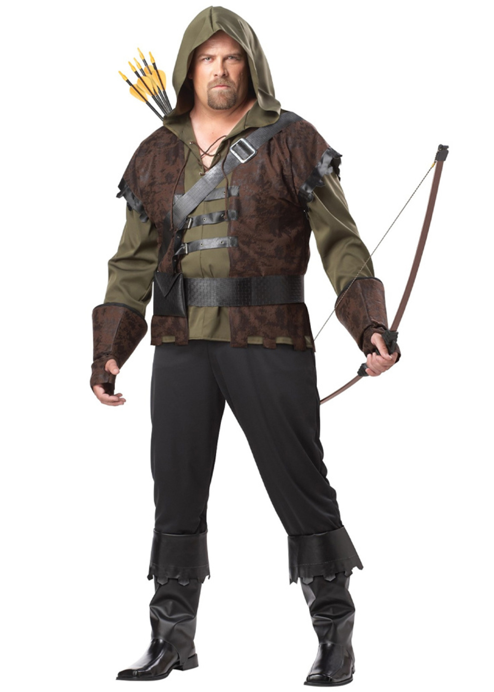 Robin Hood Costume - Men's Plus