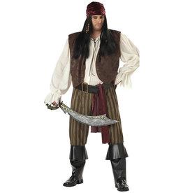 Rogue Pirate Costume - Men's Plus