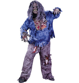 Zombie Costume - Men's Plus