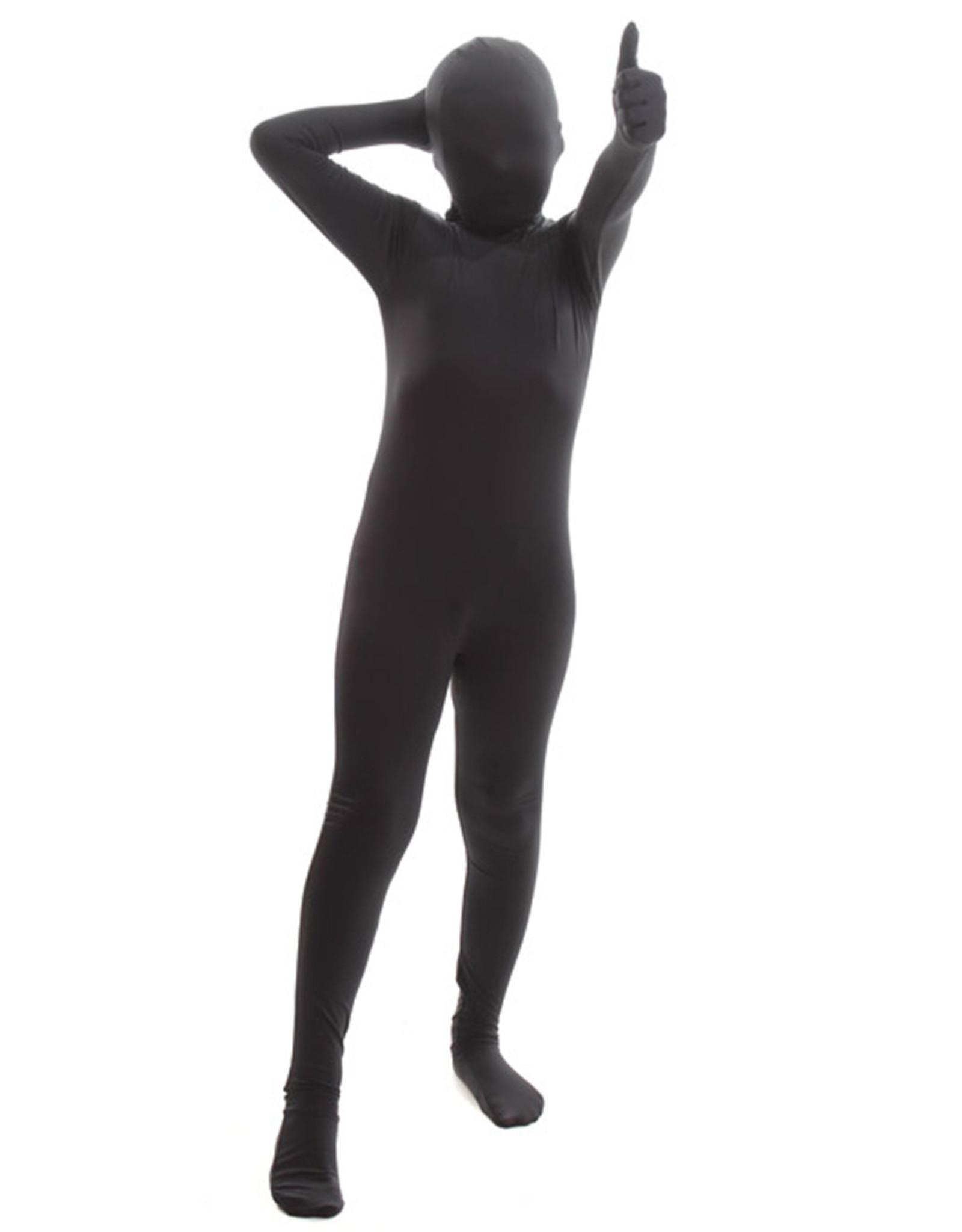 AFG MEDIA Black Morphsuit Costume - Boy's