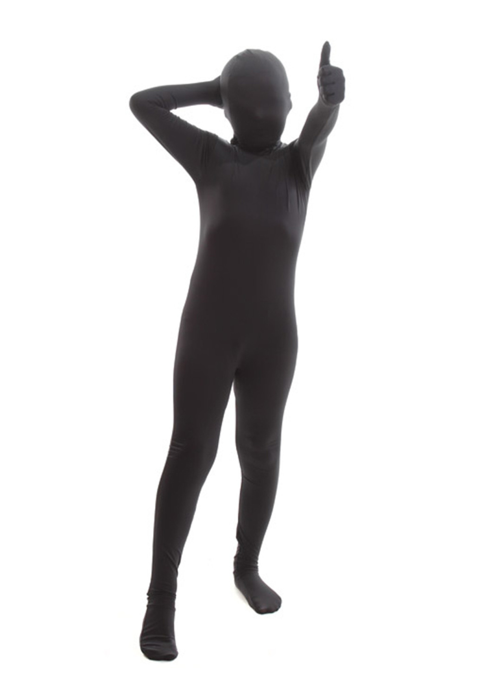 AFG MEDIA Black Morphsuit Costume - Boy's