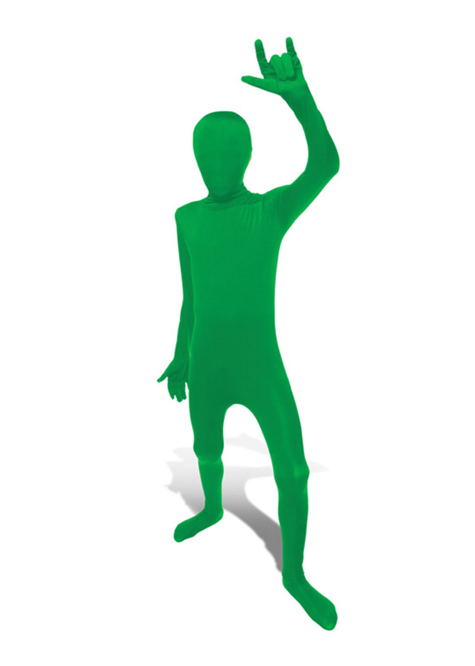 Green Morphsuit Costume - Boy's