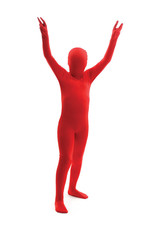Red Morphsuit Costume - Boy's