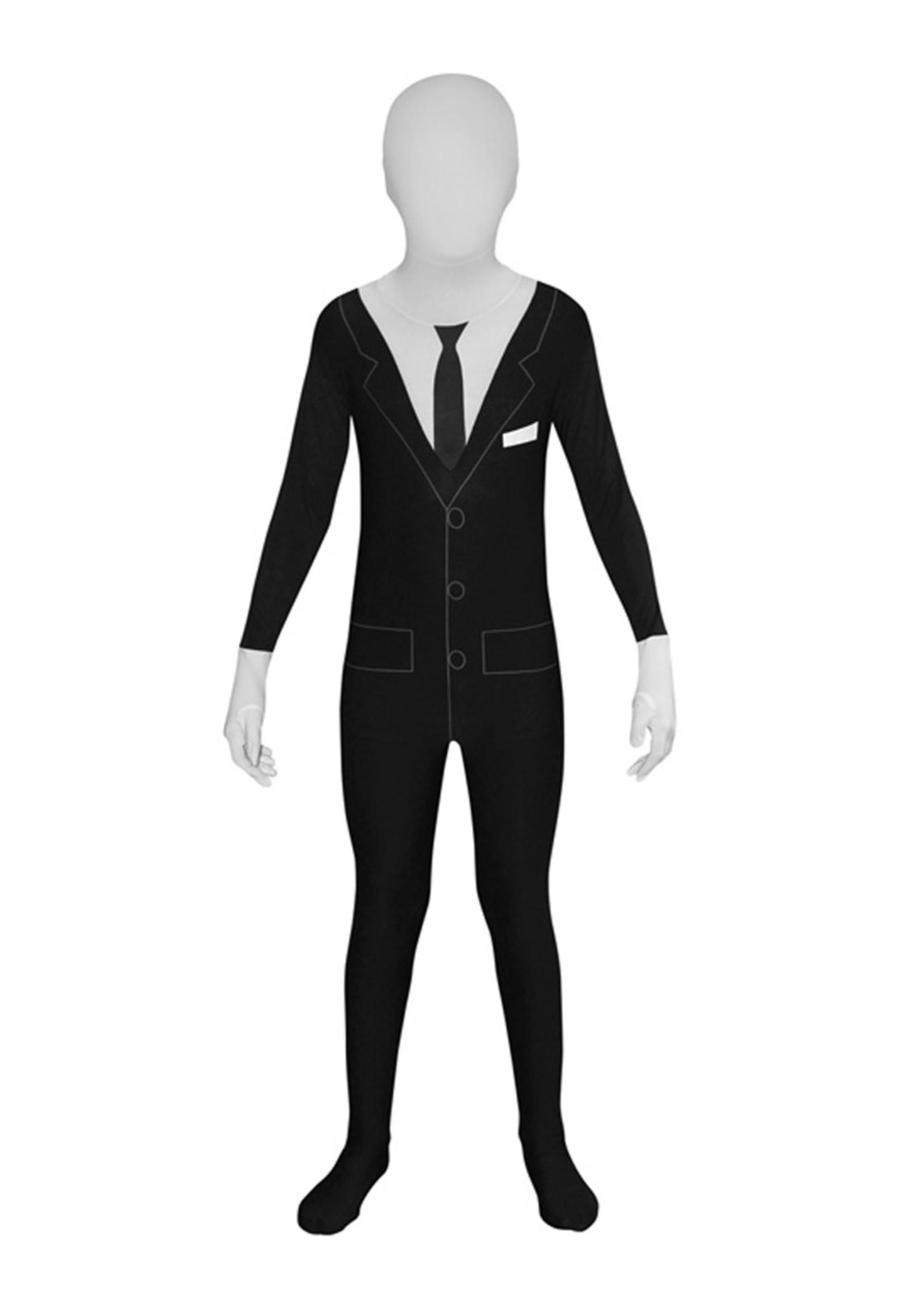 Slenderman Morphsuit Costume - Boy's