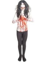 Jeff the Killer Morphsuit Costume - Boy's