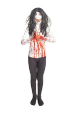 Jeff the Killer Morphsuit Costume - Boy's