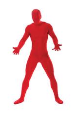 Red Morphsuit Costume - Men's