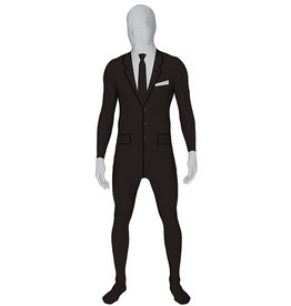 Businessman Morphsuit Costume - Men's