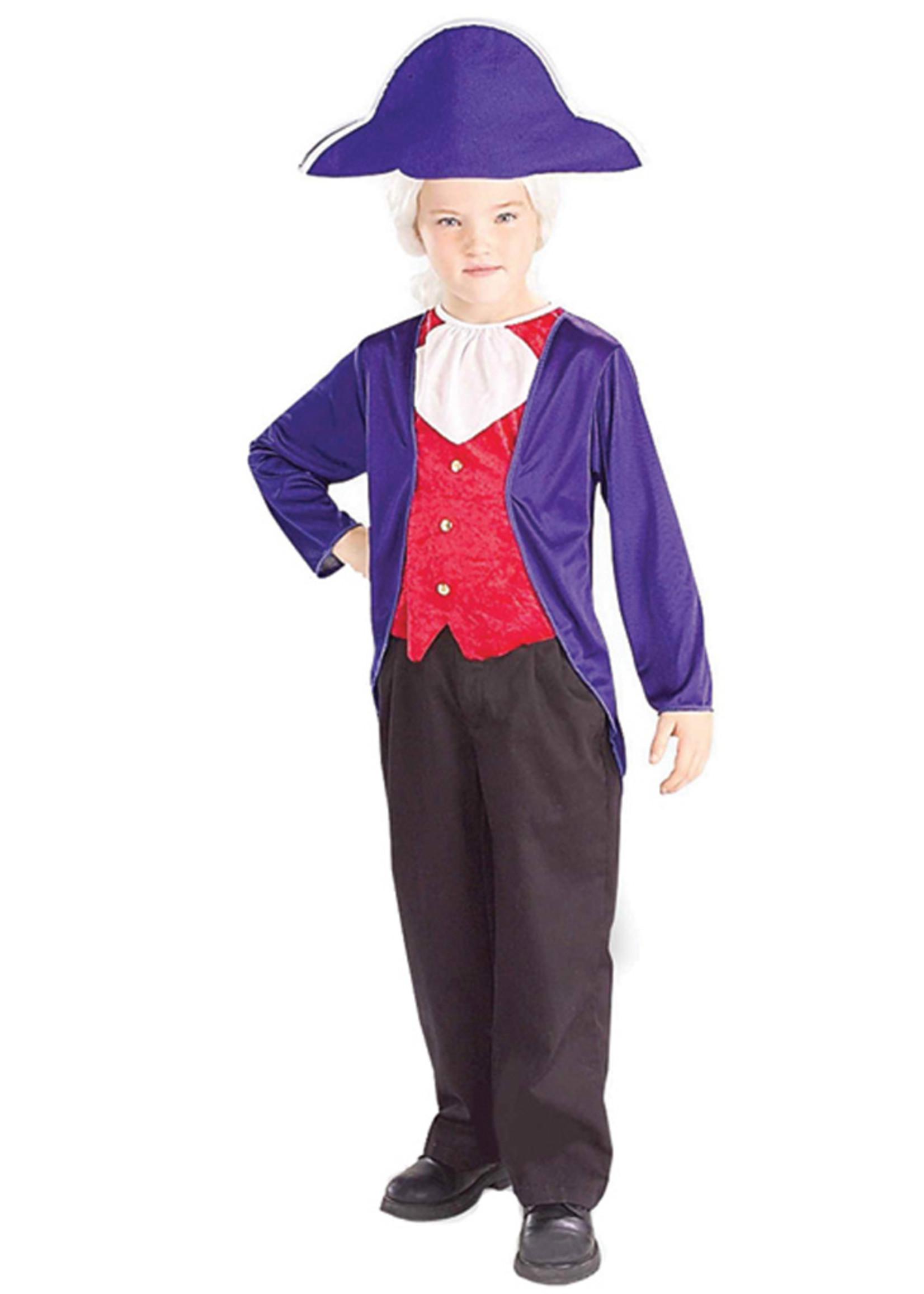 George Washington Costume - Boy's