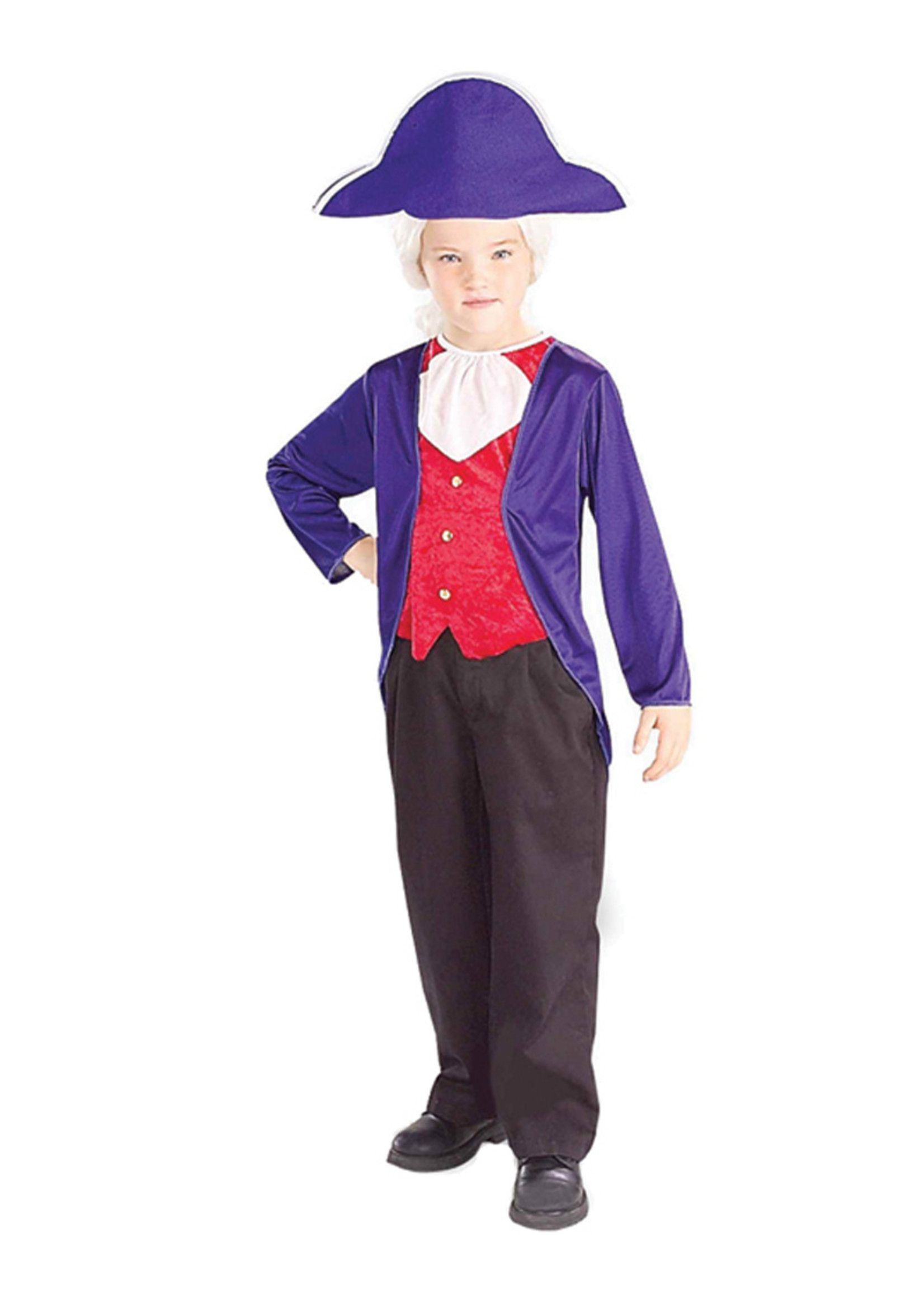 George Washington Costume - Boy's
