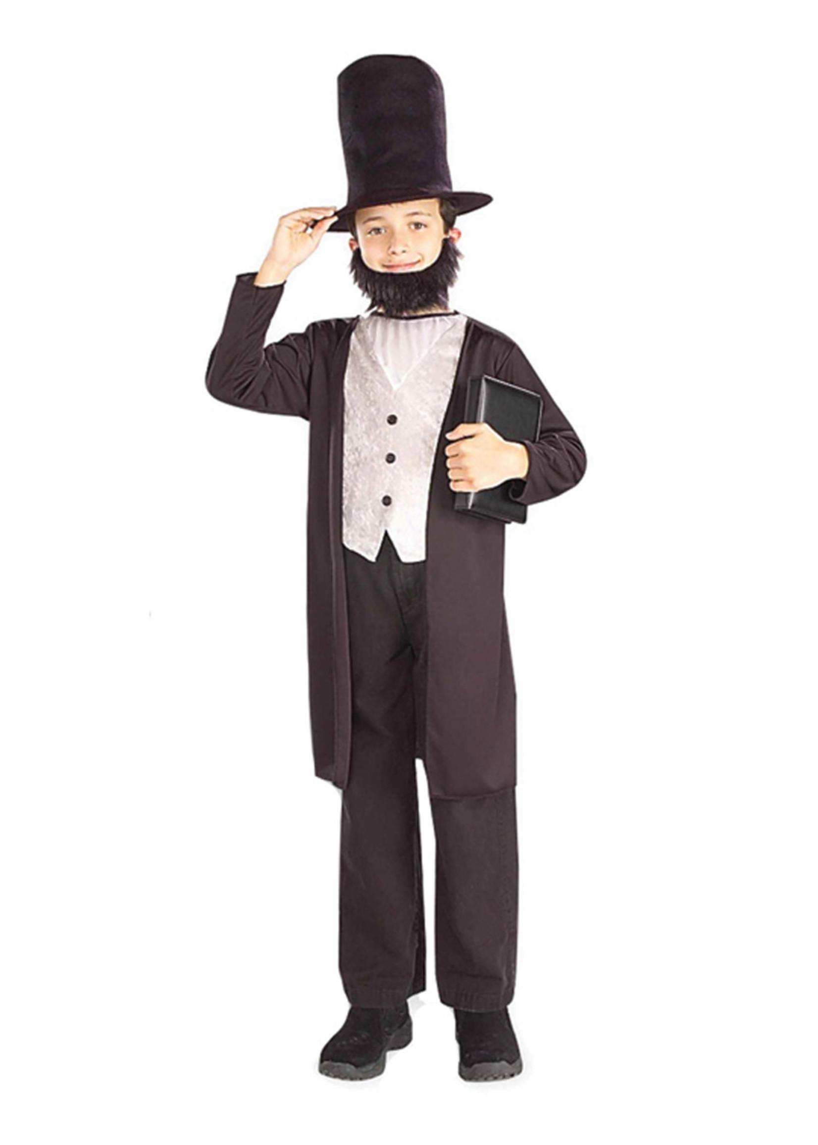 Abraham Lincoln Costume - Boy's