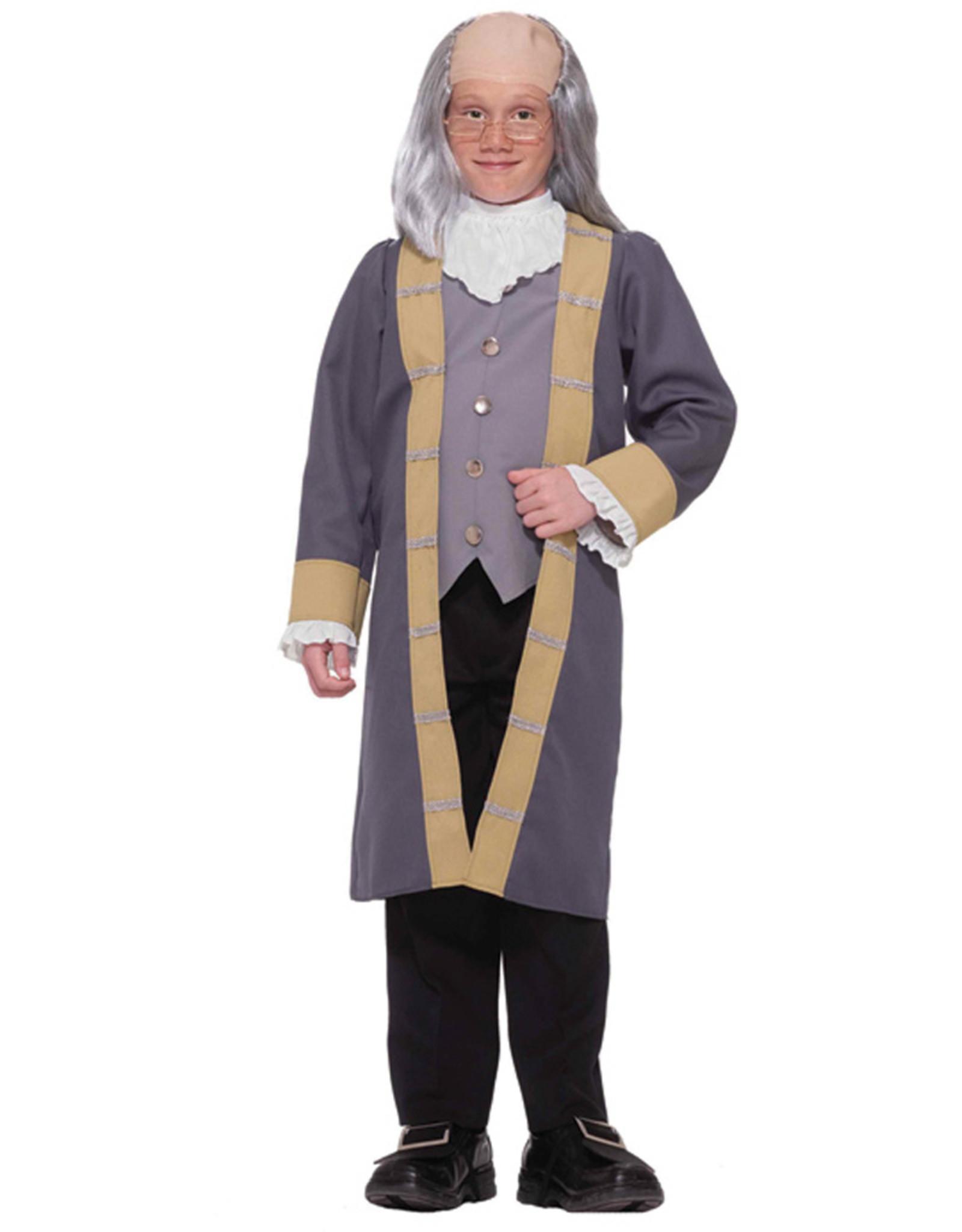 Ben Franklin Costume - Boy's