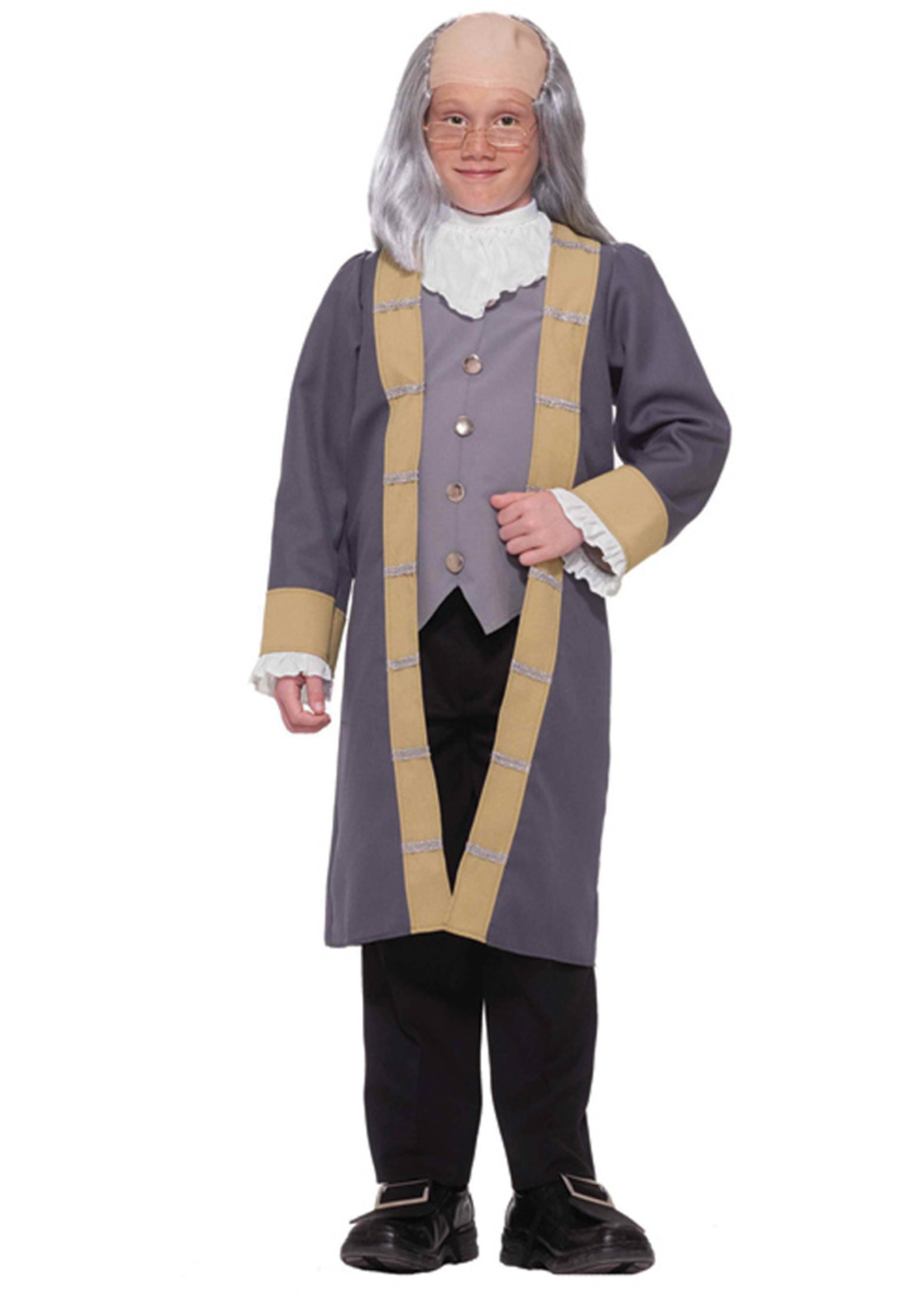 Ben Franklin Costume - Boy's