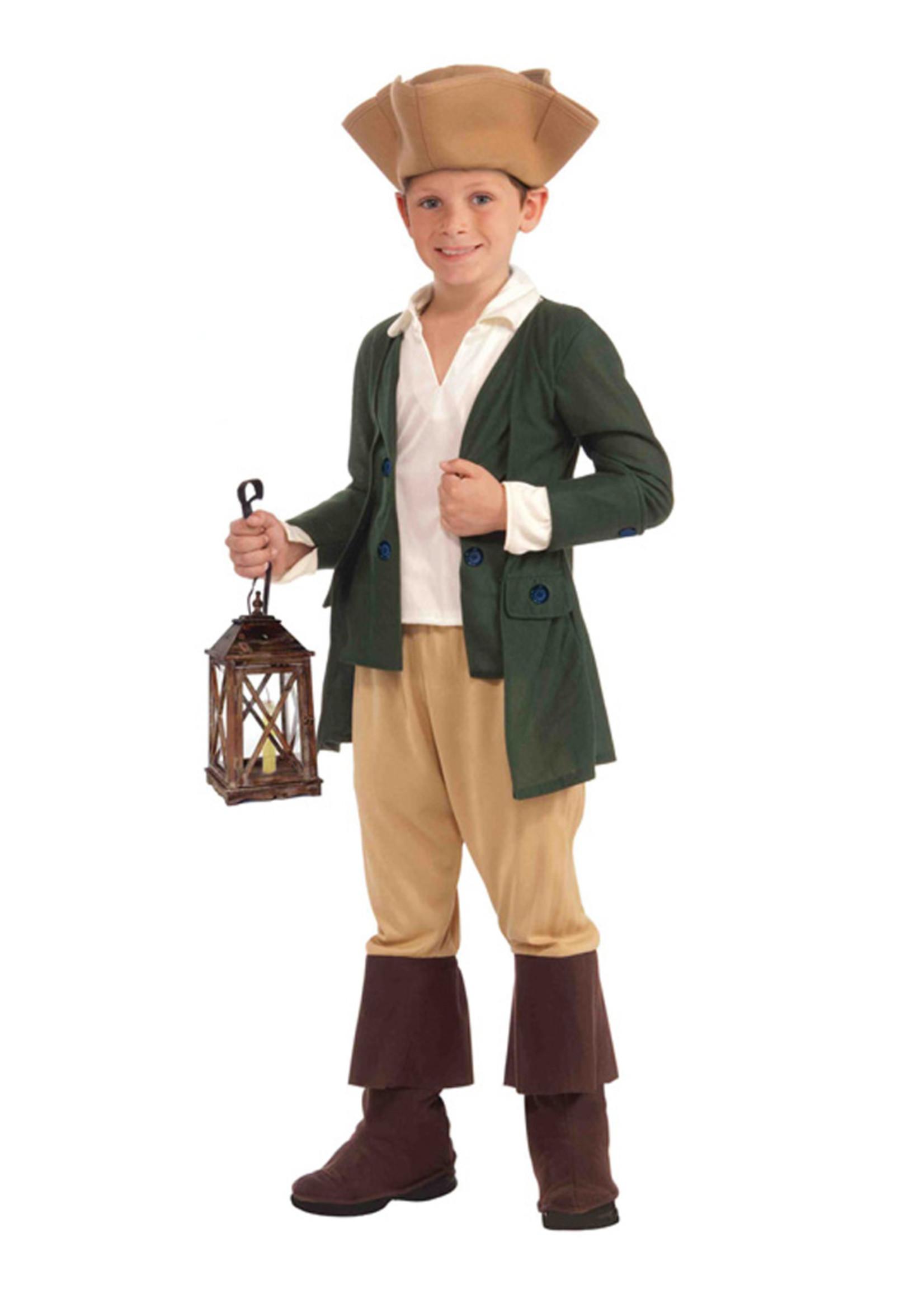 Paul Revere Costume - Boy's
