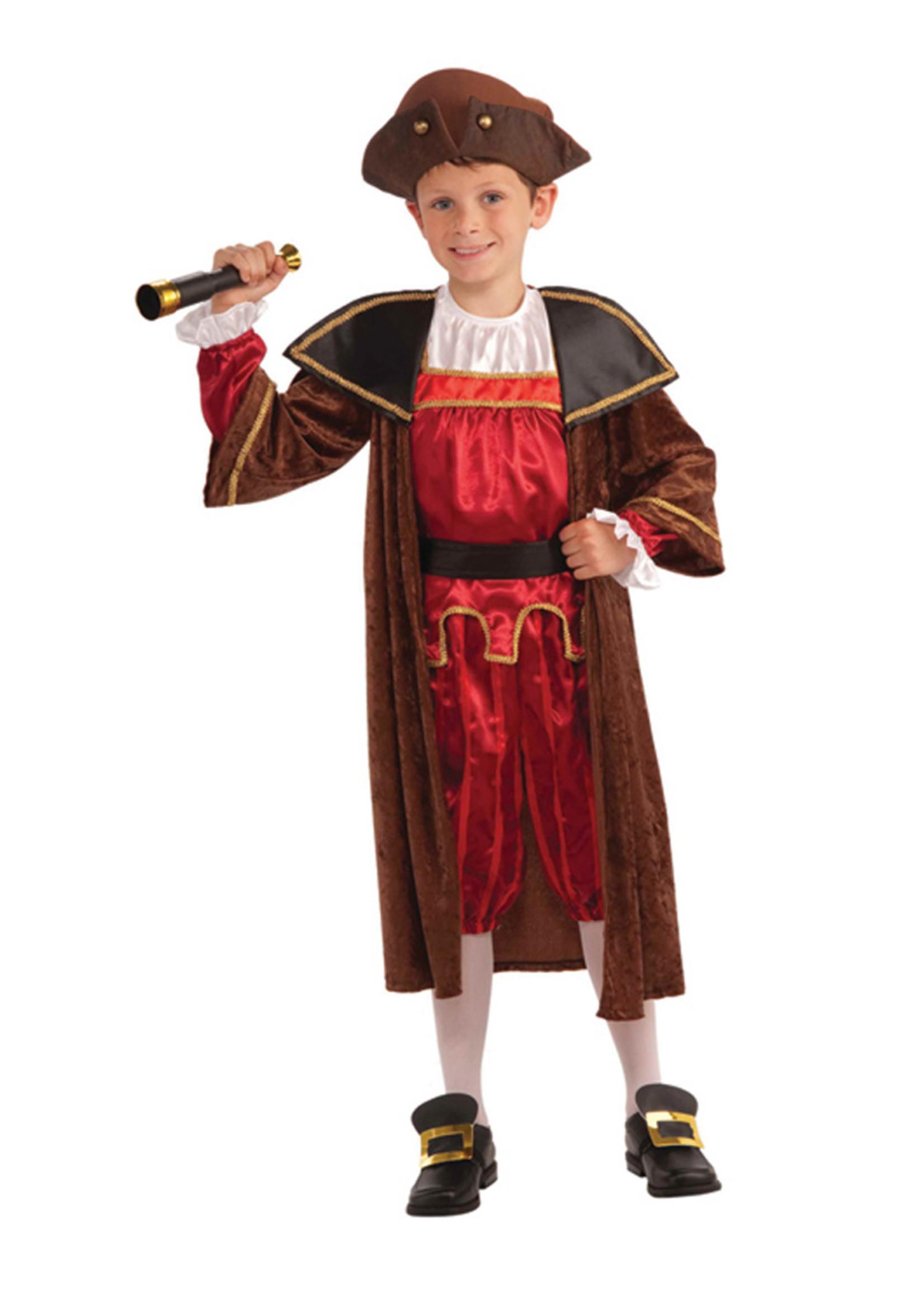 Columbus Costume - Boy's