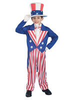 Uncle Sam Costume - Boy's