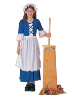 Colonial Girl Costume - Girl's