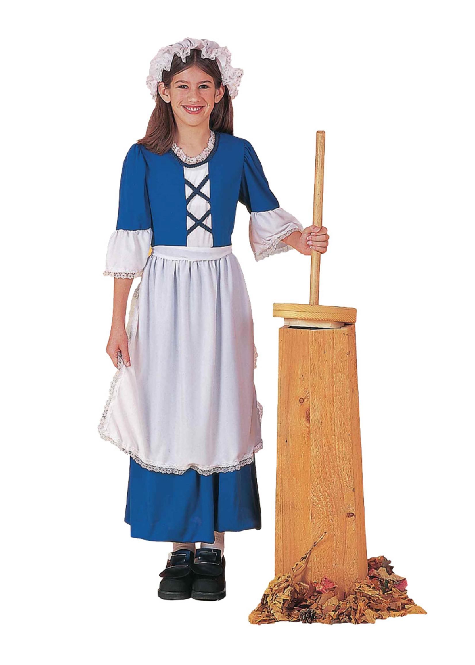 Colonial Girl Costume - Girl's