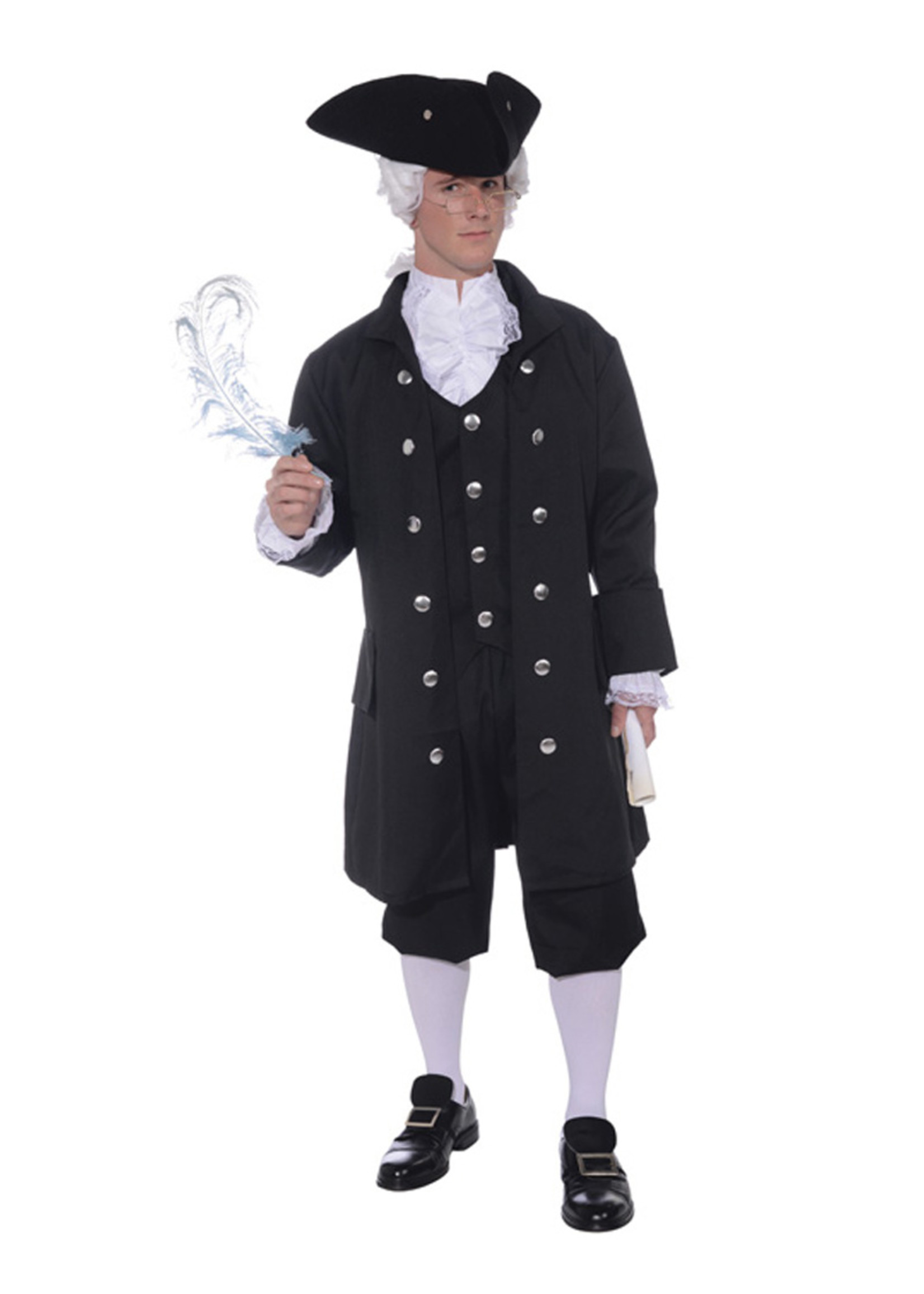 Founding Father Costume - Men's