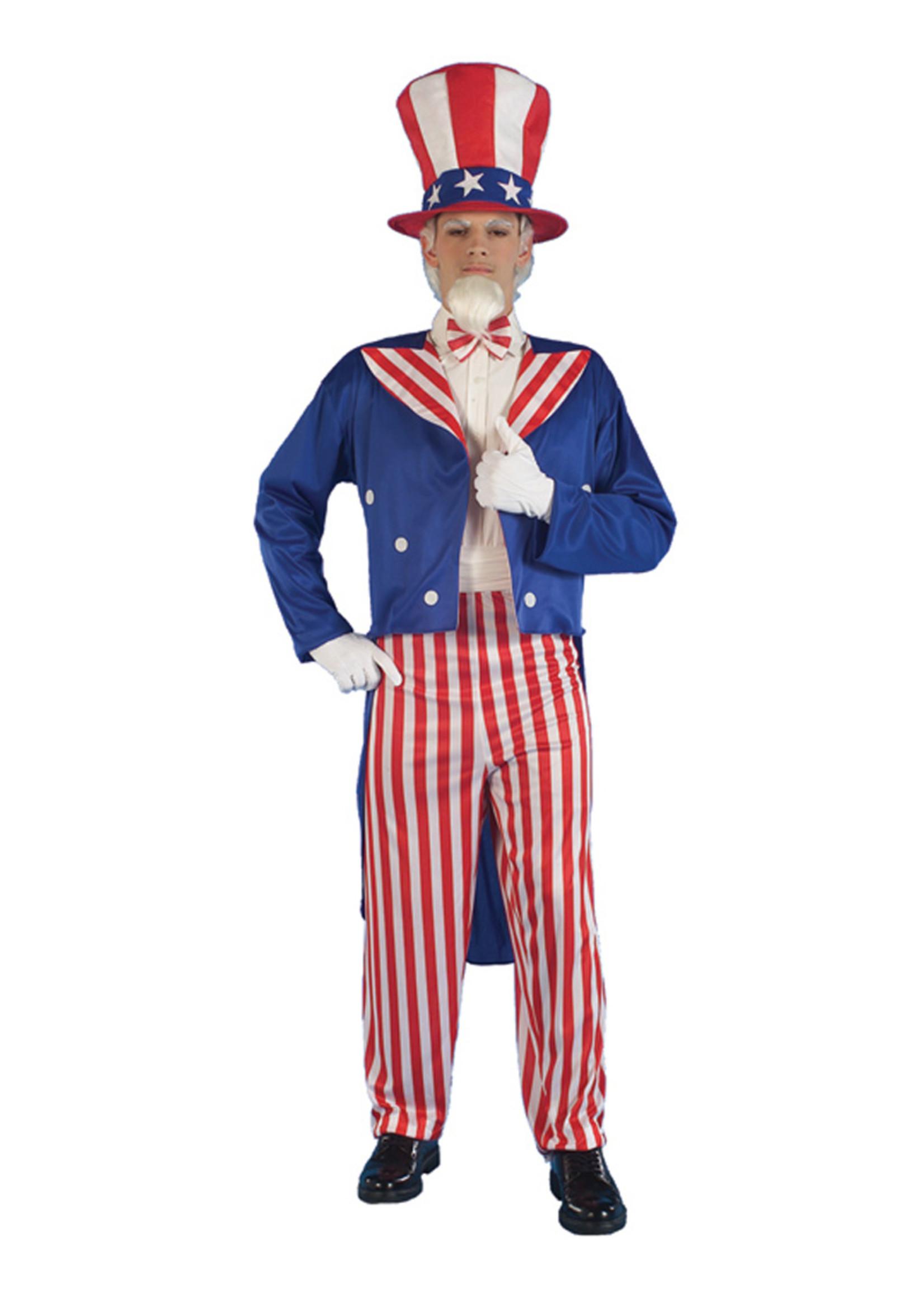 Uncle Sam Costume - Men's