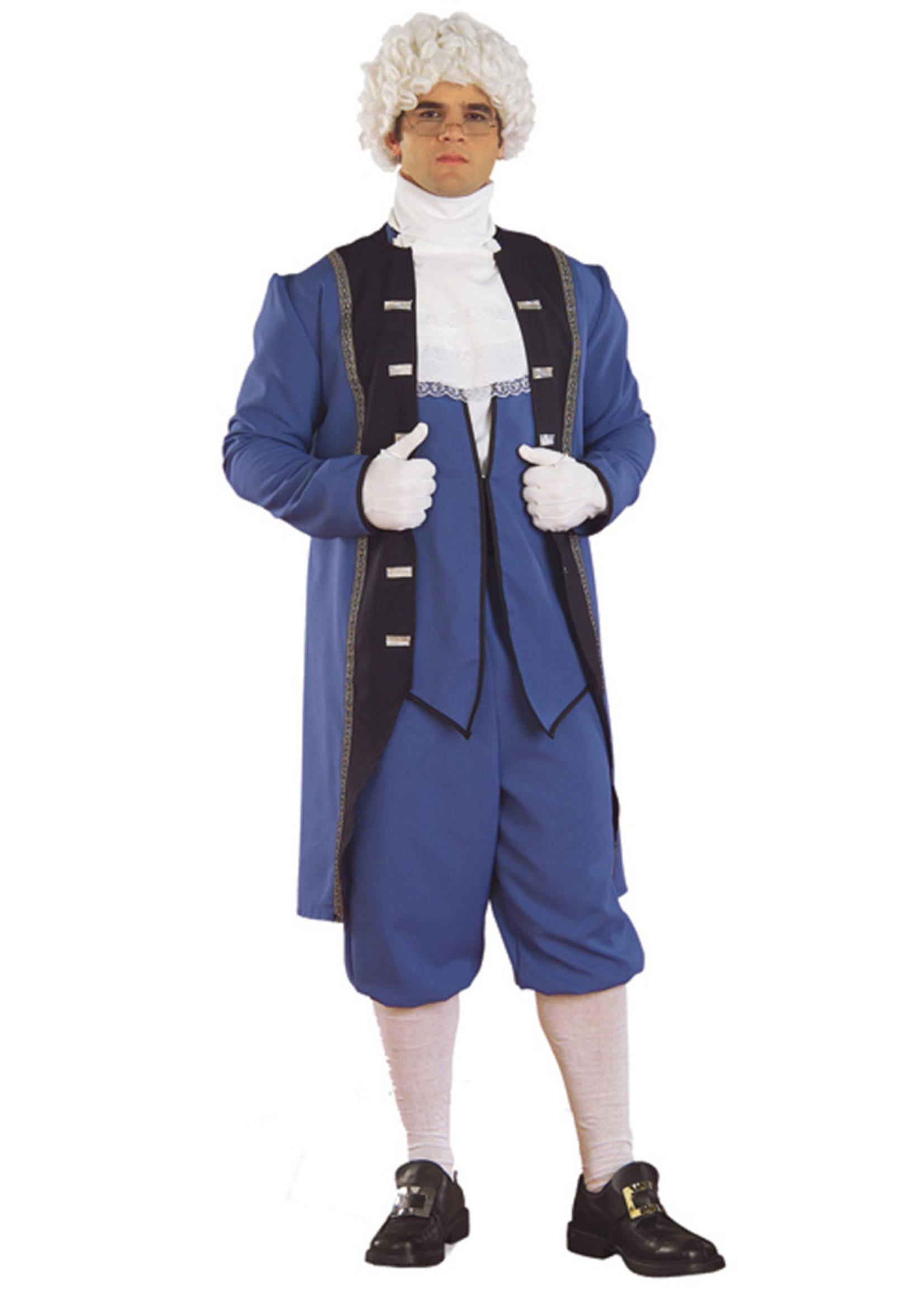Colonial Man Costume - Men's