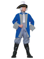 Colonial General Costume - Men's