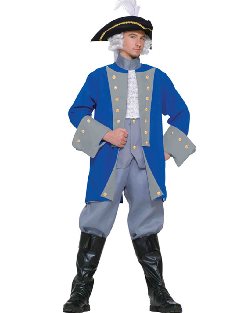 Colonial General Costume - Men's