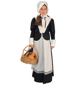 Pilgrim Costume - Girl's