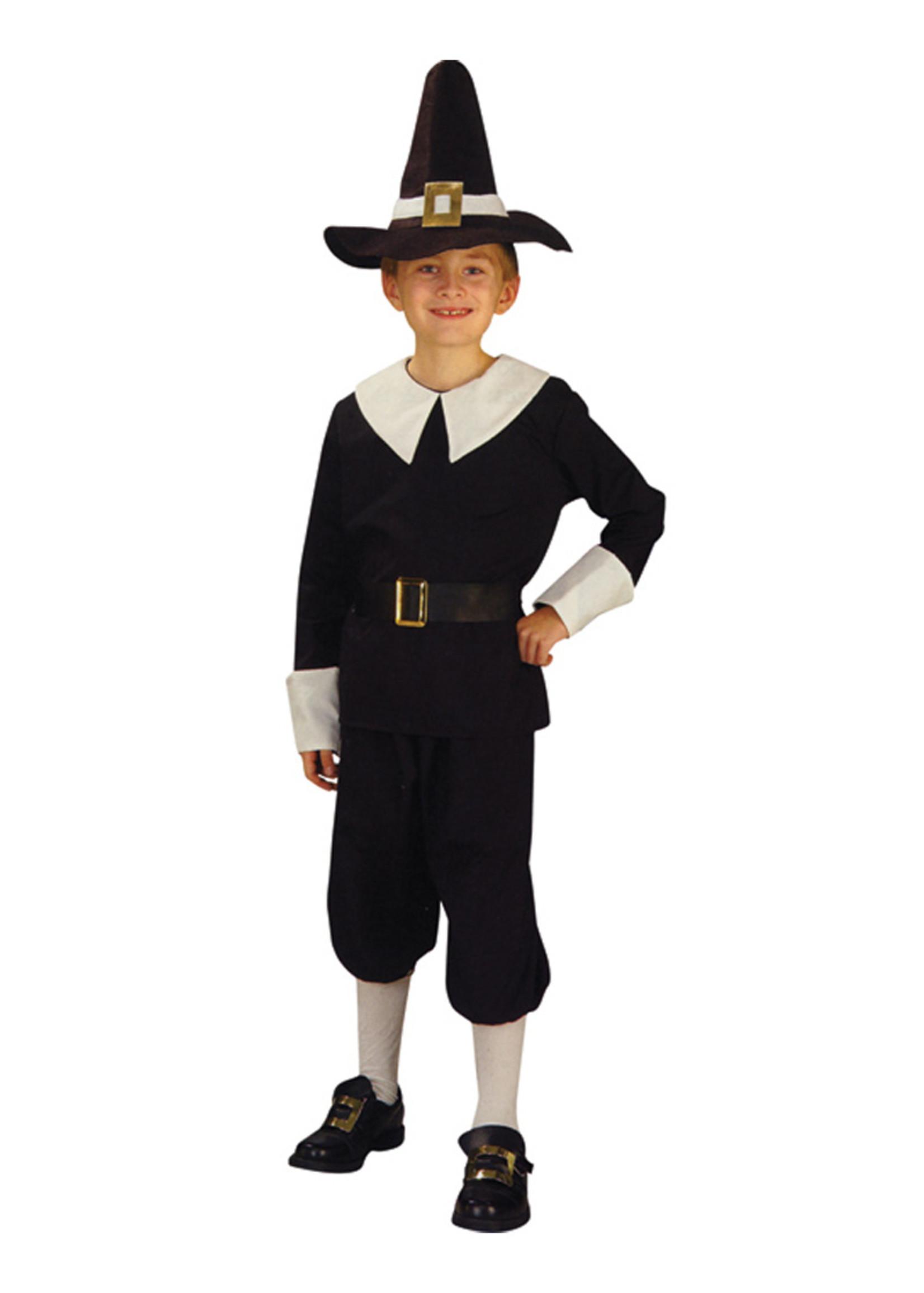 Pilgrim Costume - Boy's