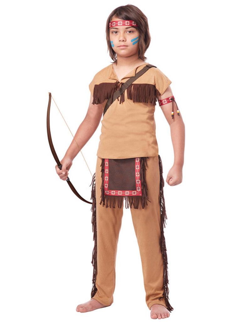 Native American Brave Costume - Boy's