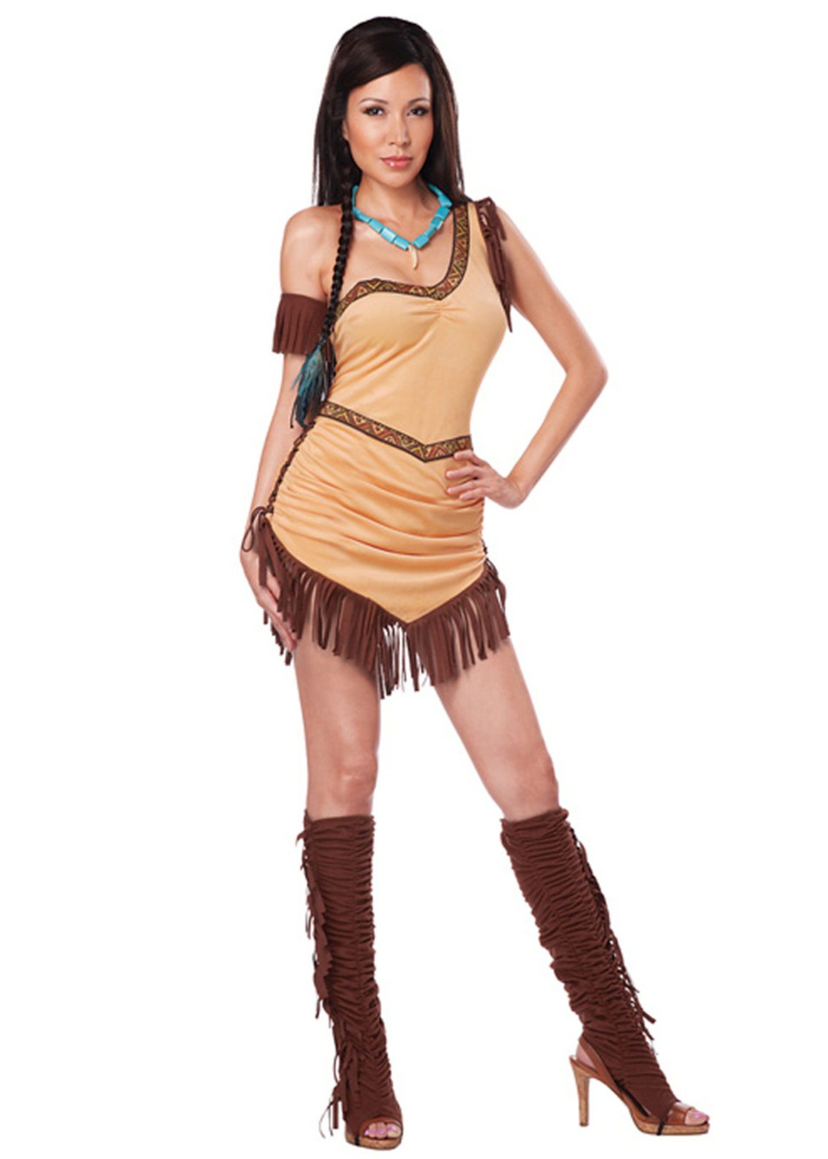 Native American Beauty Costume - Women's