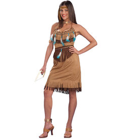 Pow Wow Princess Costume - Women's