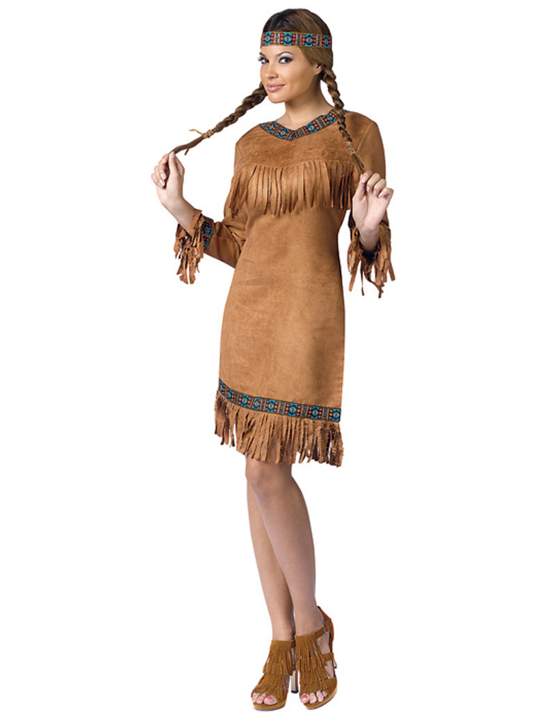 Native American Costume - Women's Plus