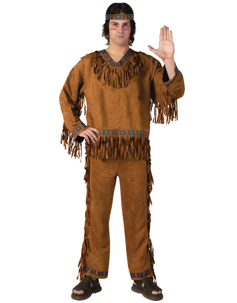 Native American Male Costume - Men's
