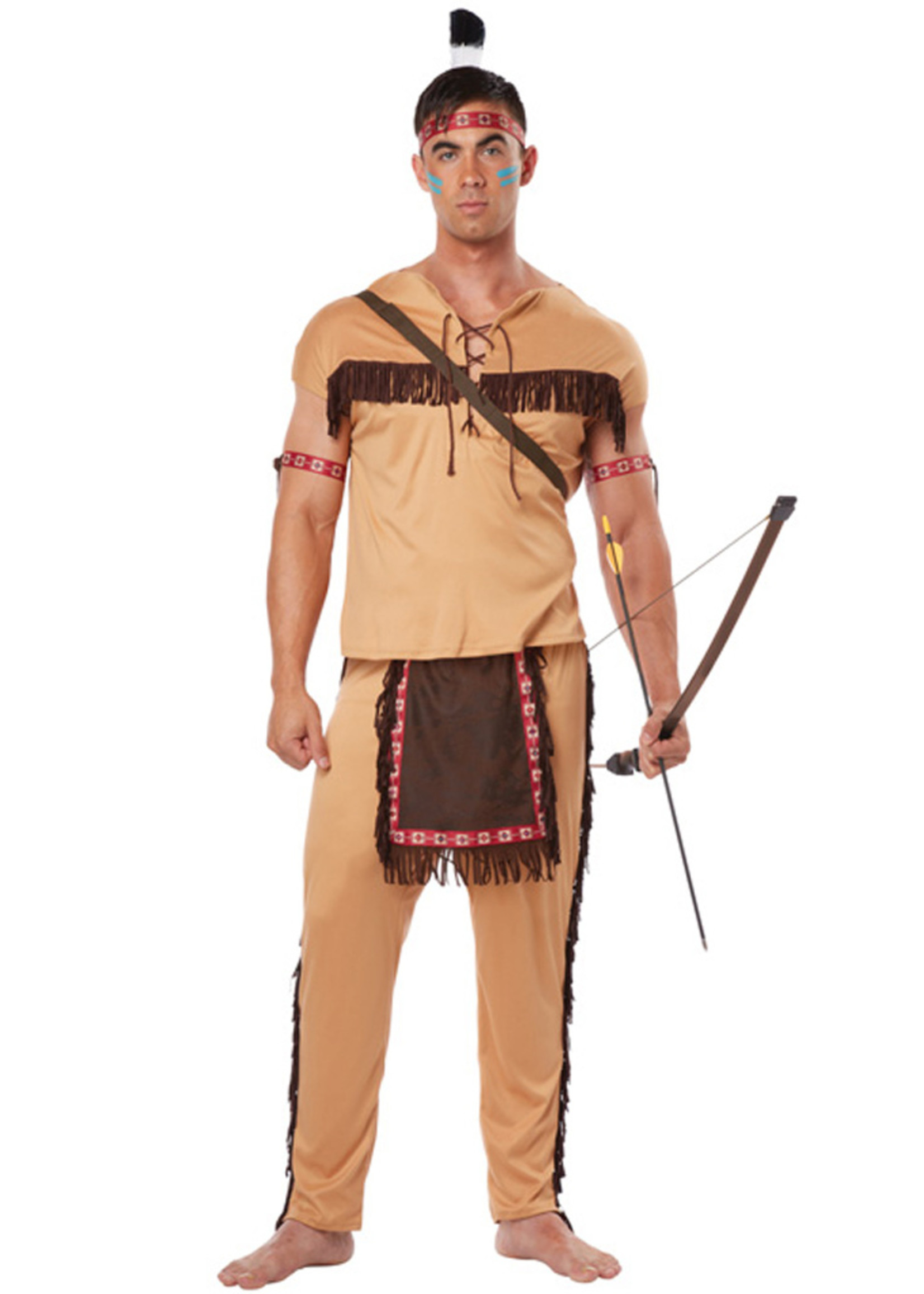 Native American Brave Costume - Men's