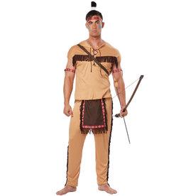 Native American Brave Costume - Men's